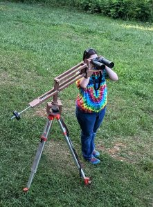 Homemade Parallelogram Binocular Mount