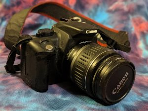 Color CMOS camera Canon 350D Rebel XT